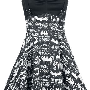 Batman Graffiti Robe noir/blanc