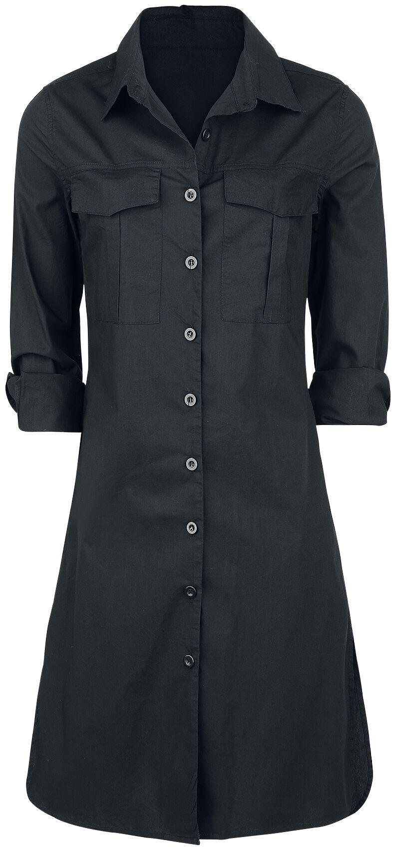 Image of   Forplay Long Girl Shirt Girlie Skjorte sort