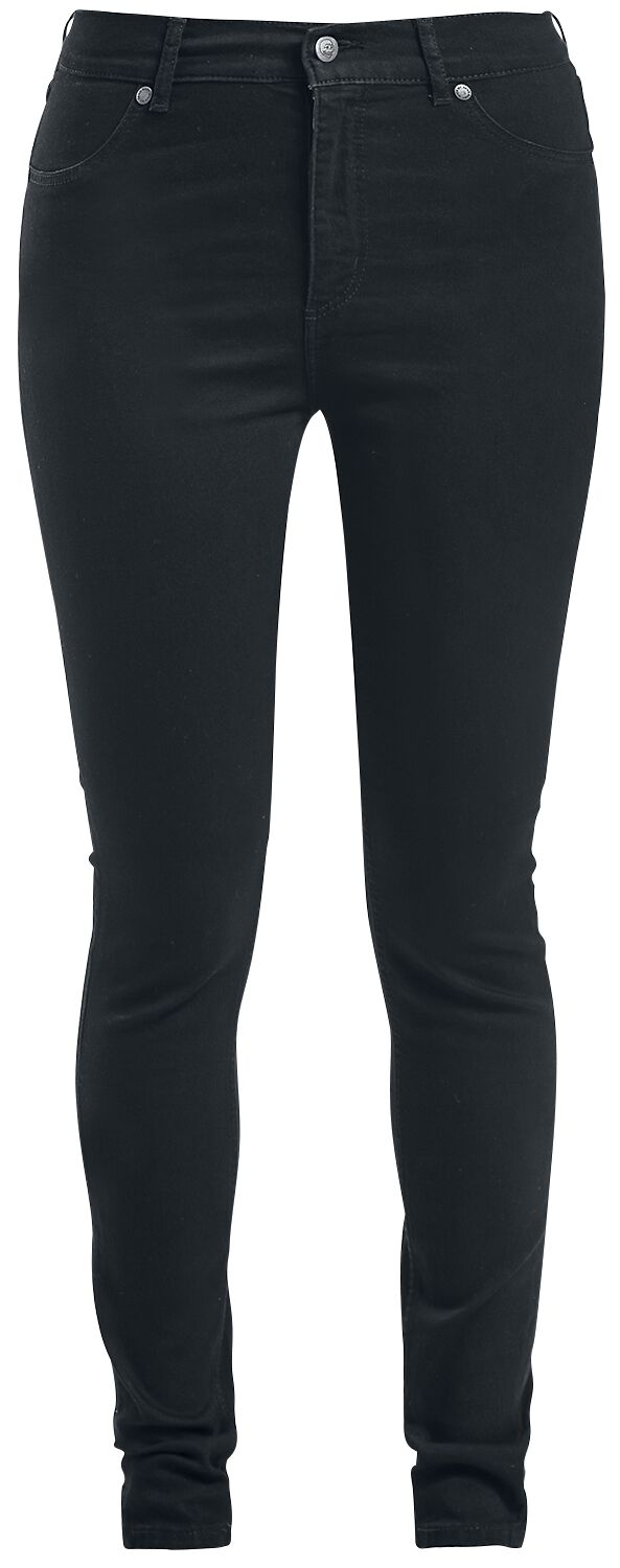 Hosen für Frauen - Cheap Monday High Spray Black Girl Jeans schwarz  - Onlineshop EMP