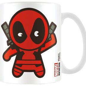 Deadpool Marvel Kawaii Mug blanc