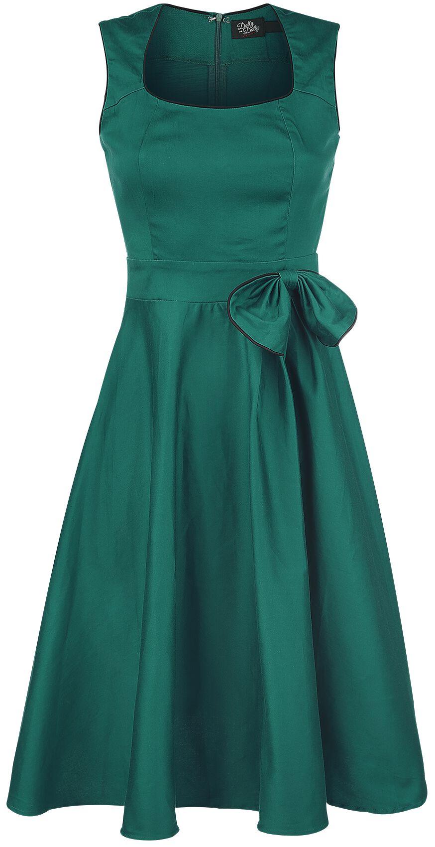 Marki - Sukienki - Sukienka Dolly and Dotty Bow Dress Sukienka zielony - 331218