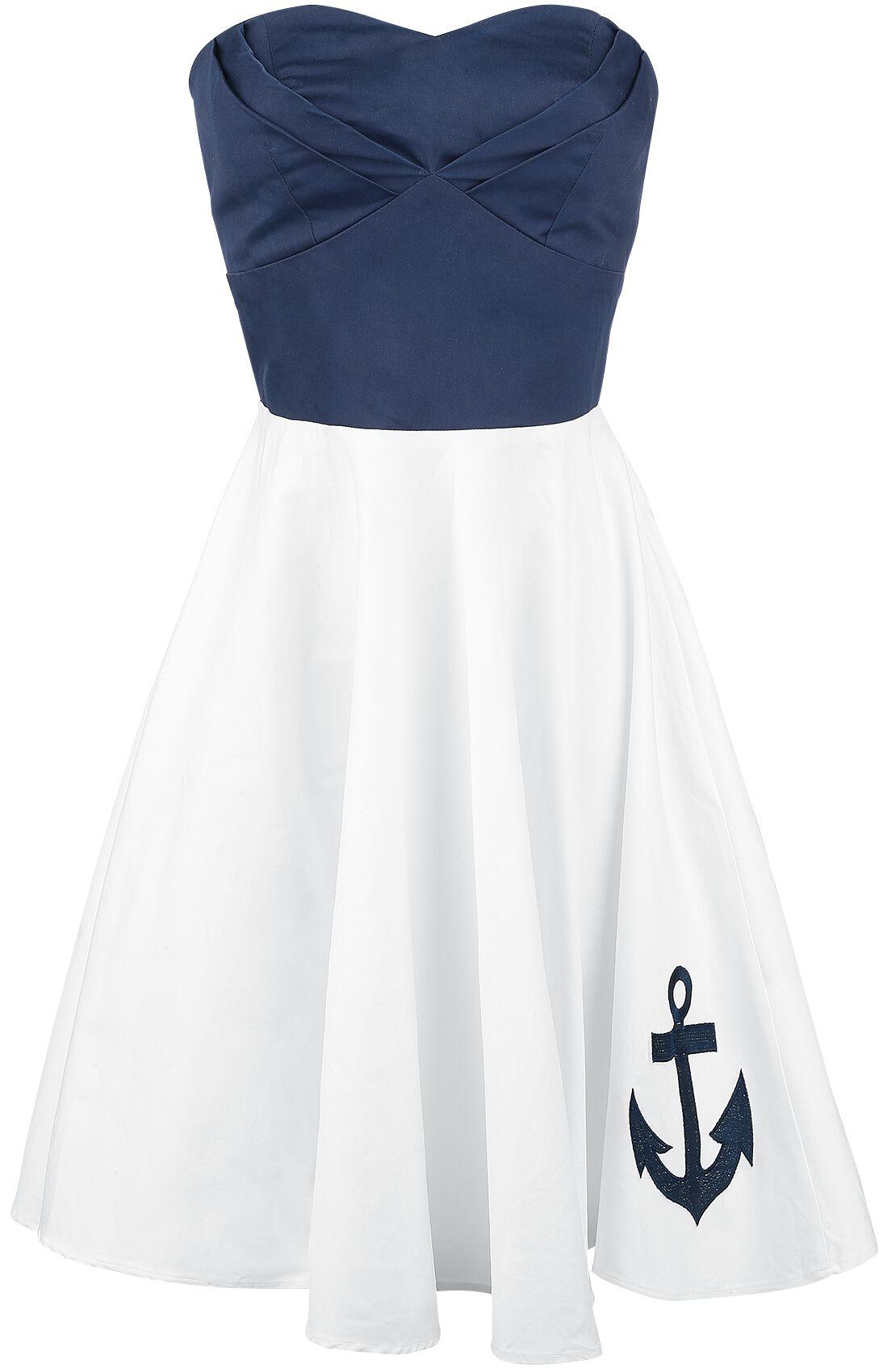Marki - Sukienki - Sukienka Dolly and Dotty Anchor Dress Sukienka biały/niebieski - 331221