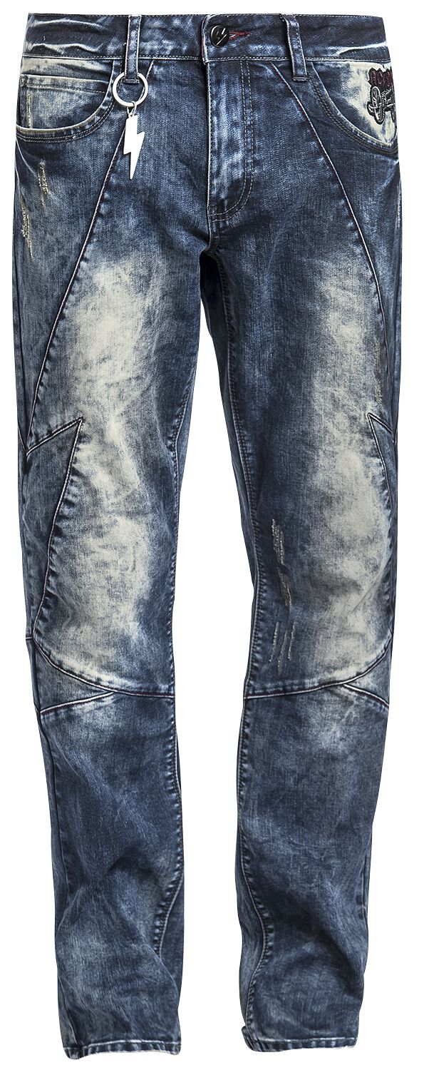Image of   AC/DC EMP Signature Collection Jeans blå
