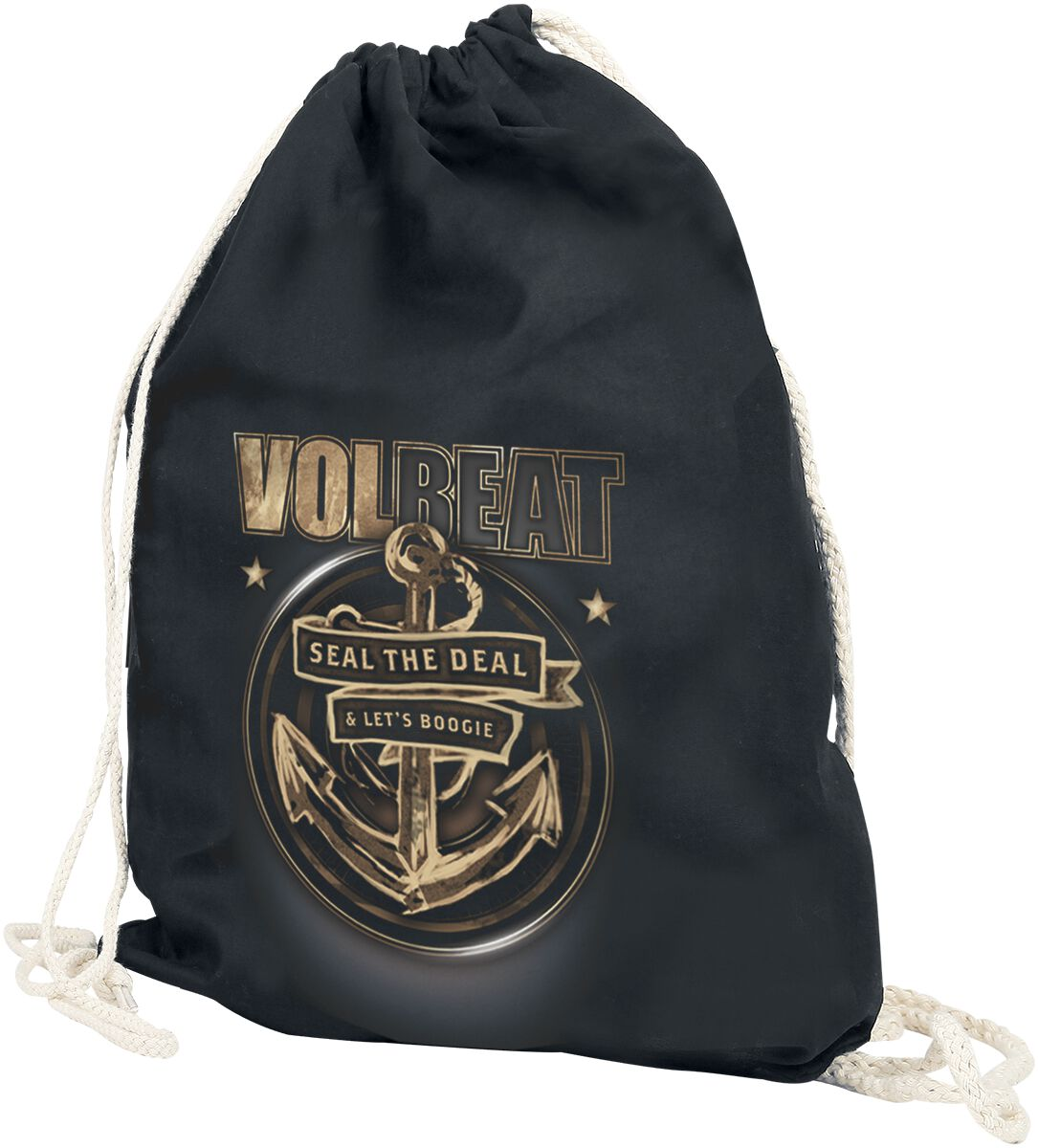 Image of   Volbeat Anchor Gymnastiktaske sort-beige
