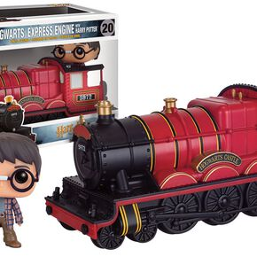 Figurine Locomotive Poudlard Express + Harry Potter Funko Pop!