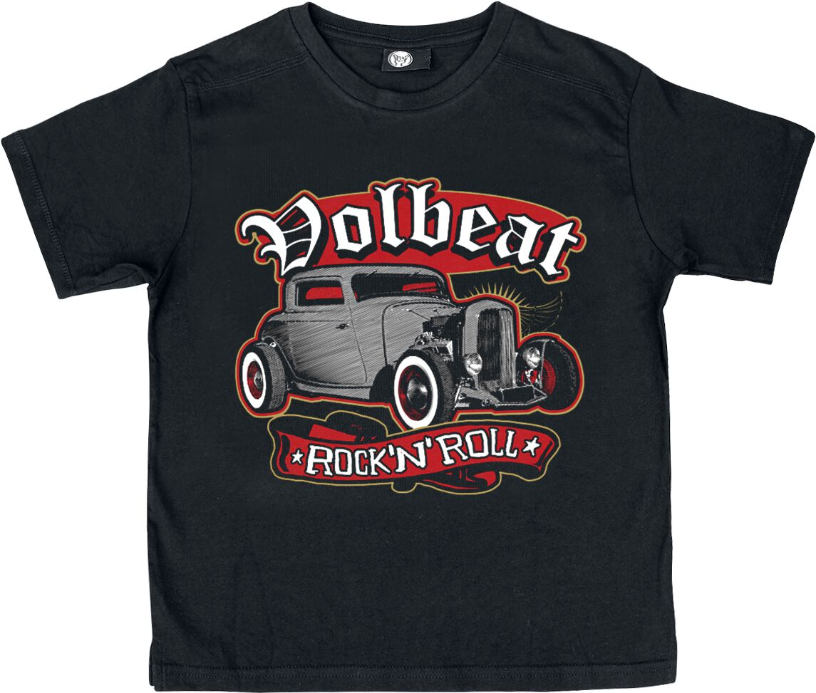 Image of   Volbeat Hot Rods Børnetrøje sort