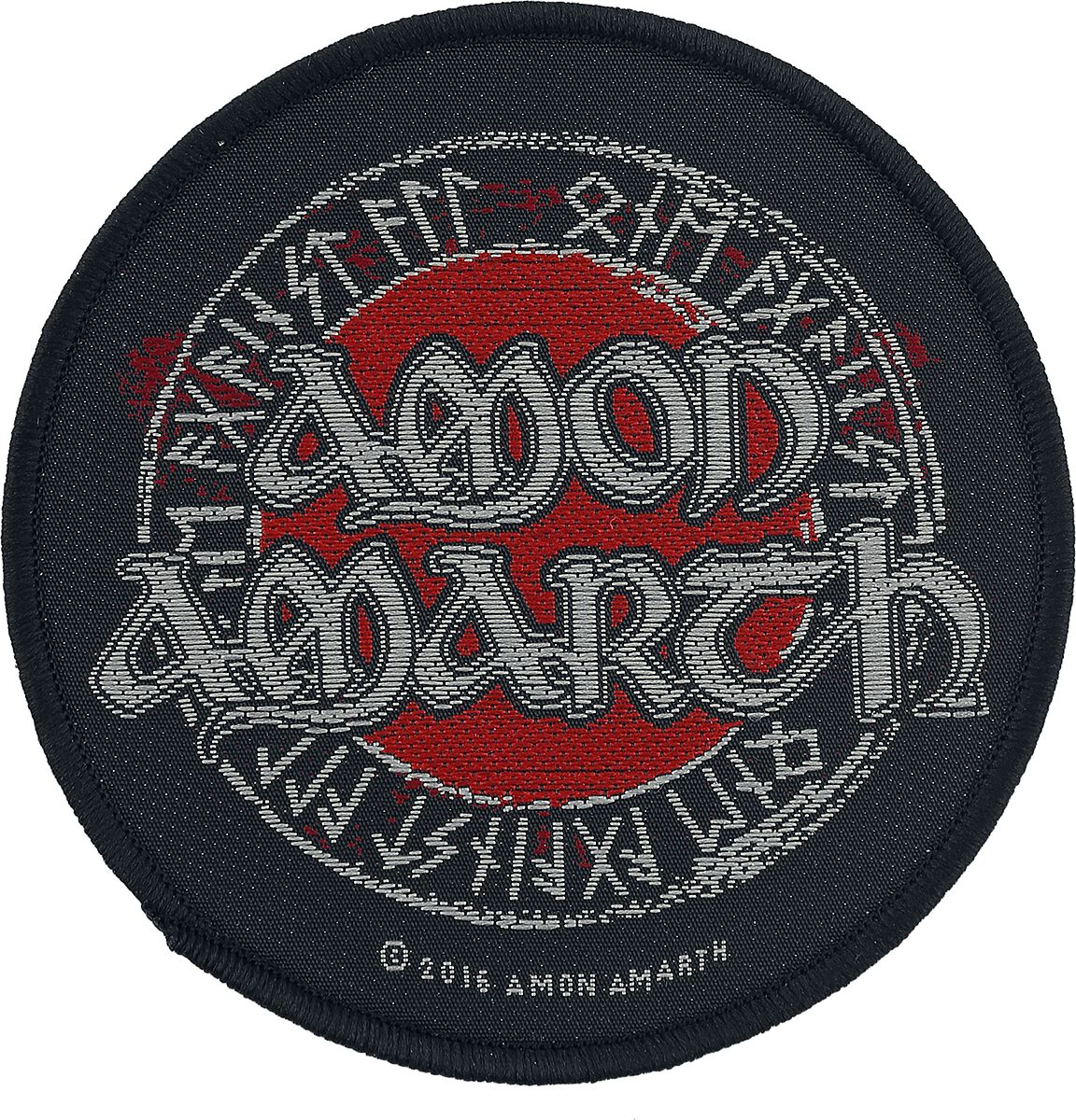 Image of   Amon Amarth Symbols Patch standard