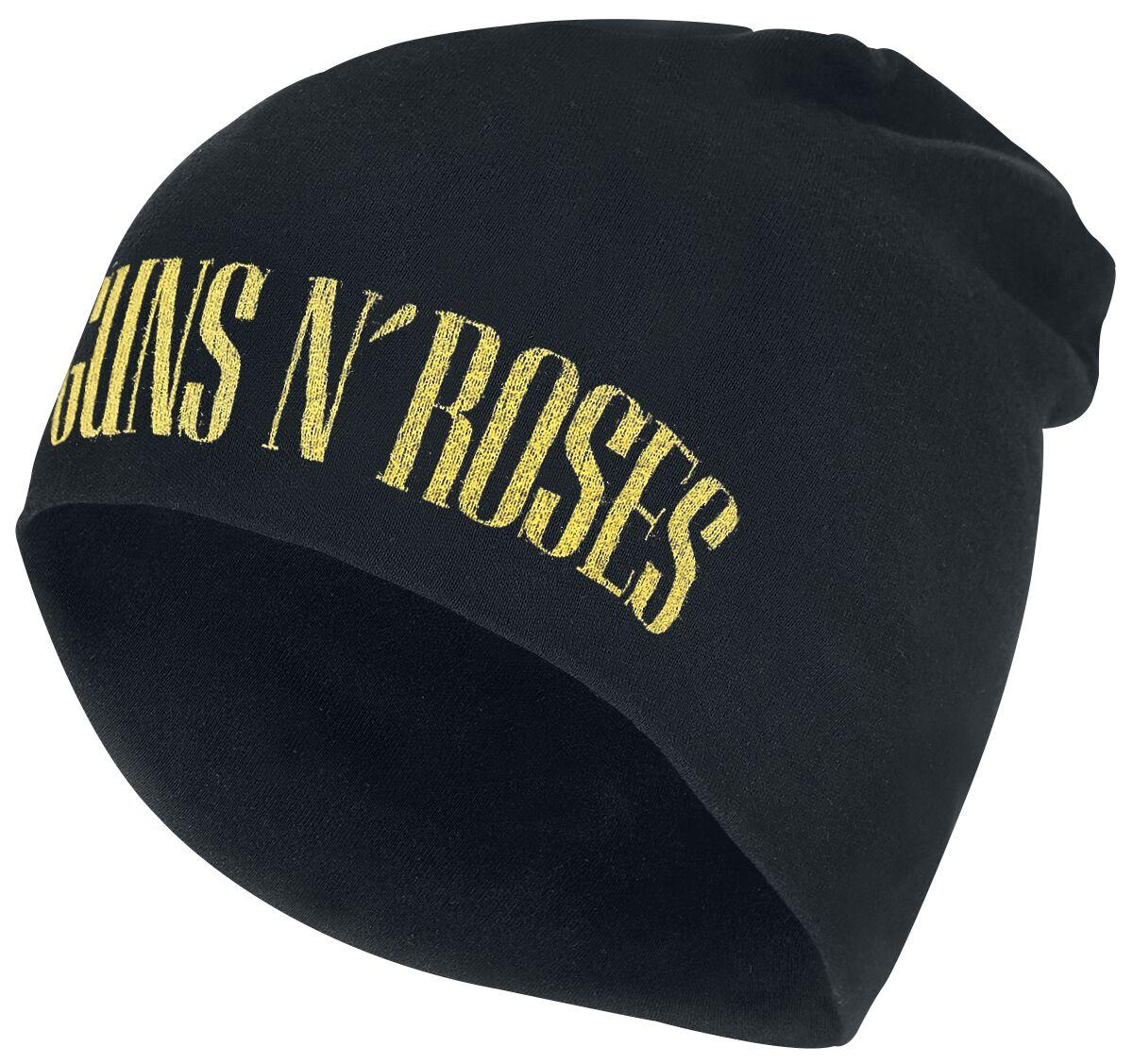 Image of   Guns N' Roses Logo - Jersey Beanie Beanie sort