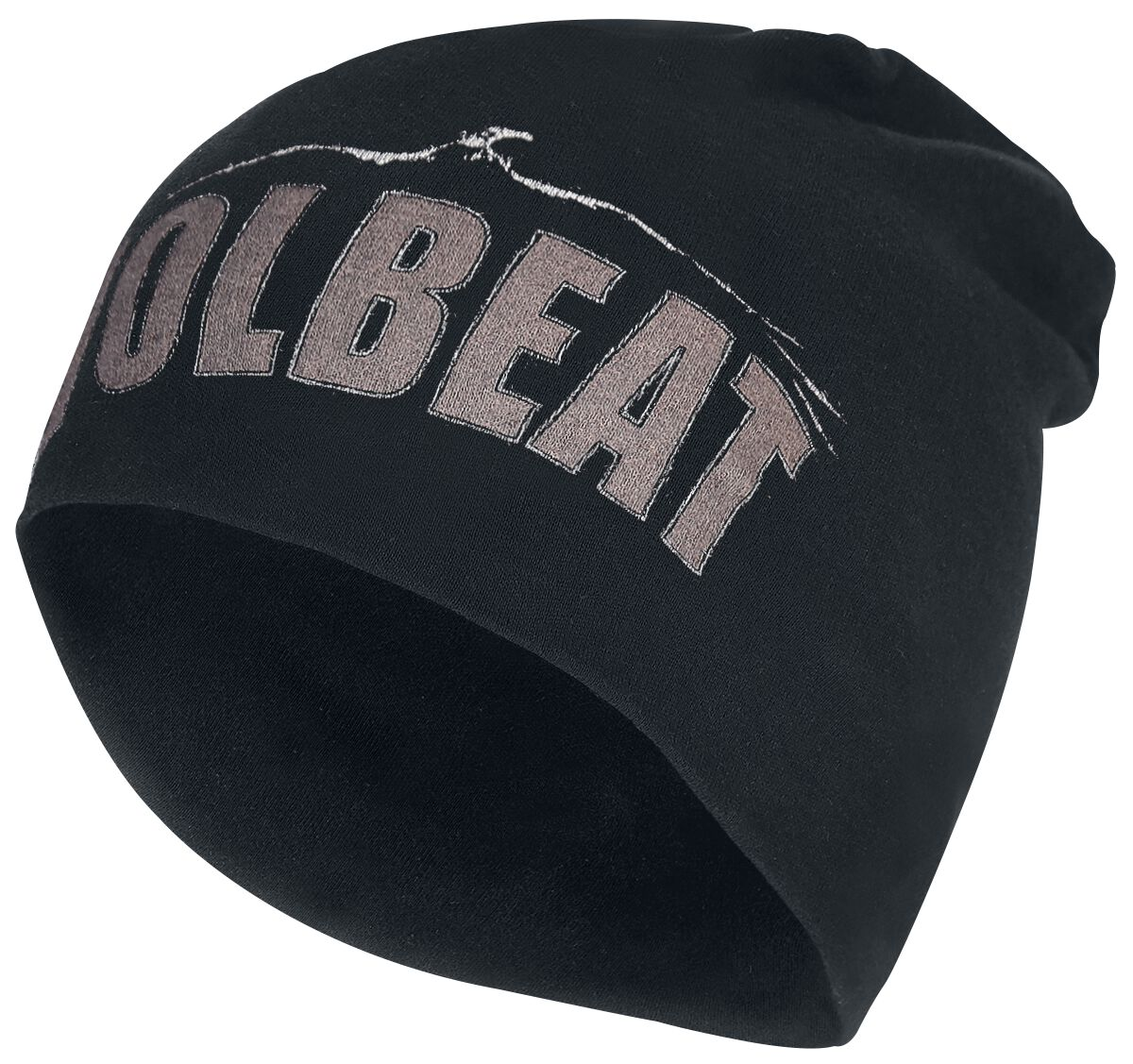 Image of   Volbeat Logo - Jersey Beanie Beanie sort