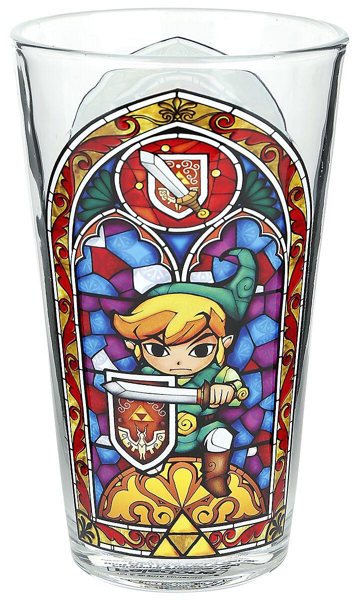 Image of   The Legend Of Zelda Link's Glass Ølglas Standard