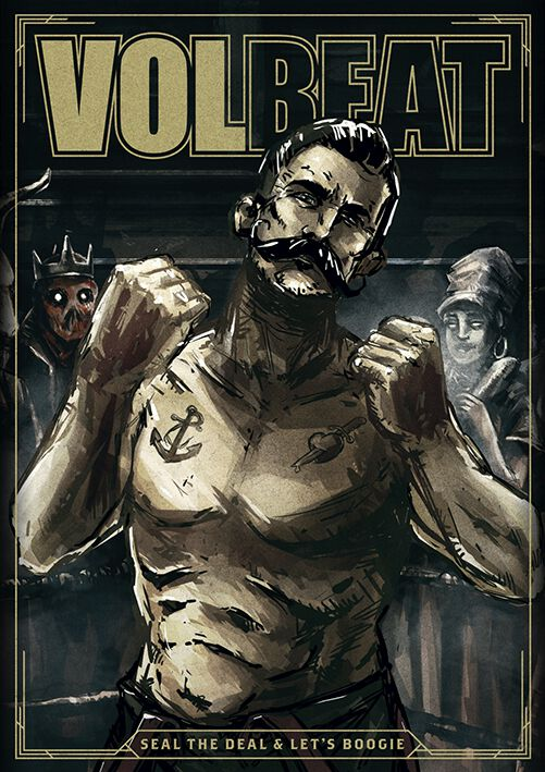 Image of   Volbeat Seal The Deal & Let's Boogie Plakat Standard