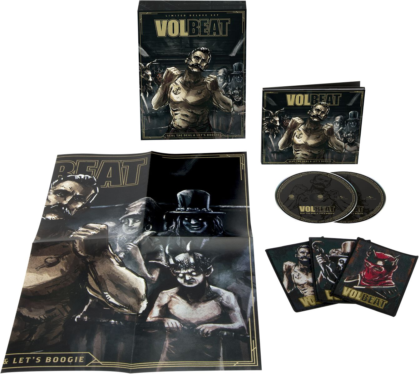 Image of   Volbeat Seal The Deal & Let's Boogie 2-CD standard