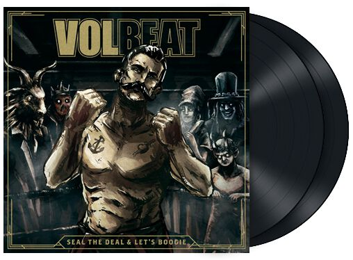 Image of   Volbeat Seal The Deal & Let's Boogie 2-LP & CD standard