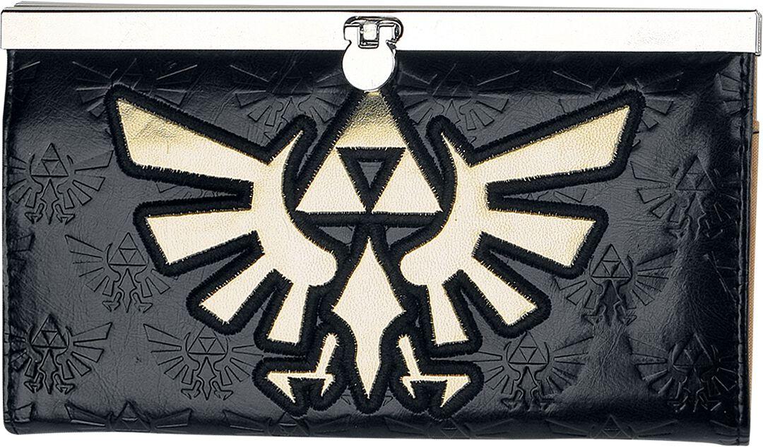 Image of   The Legend Of Zelda Skyward Sword Pung sort-guld
