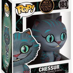 Figurine Pop! Disney Alice de l'Autre Côté du Miroir Le Chat du Cheshire