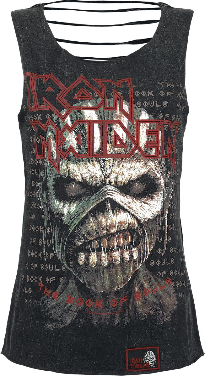 Image of   Iron Maiden EMP Signature Collection Girlie top mørk grå