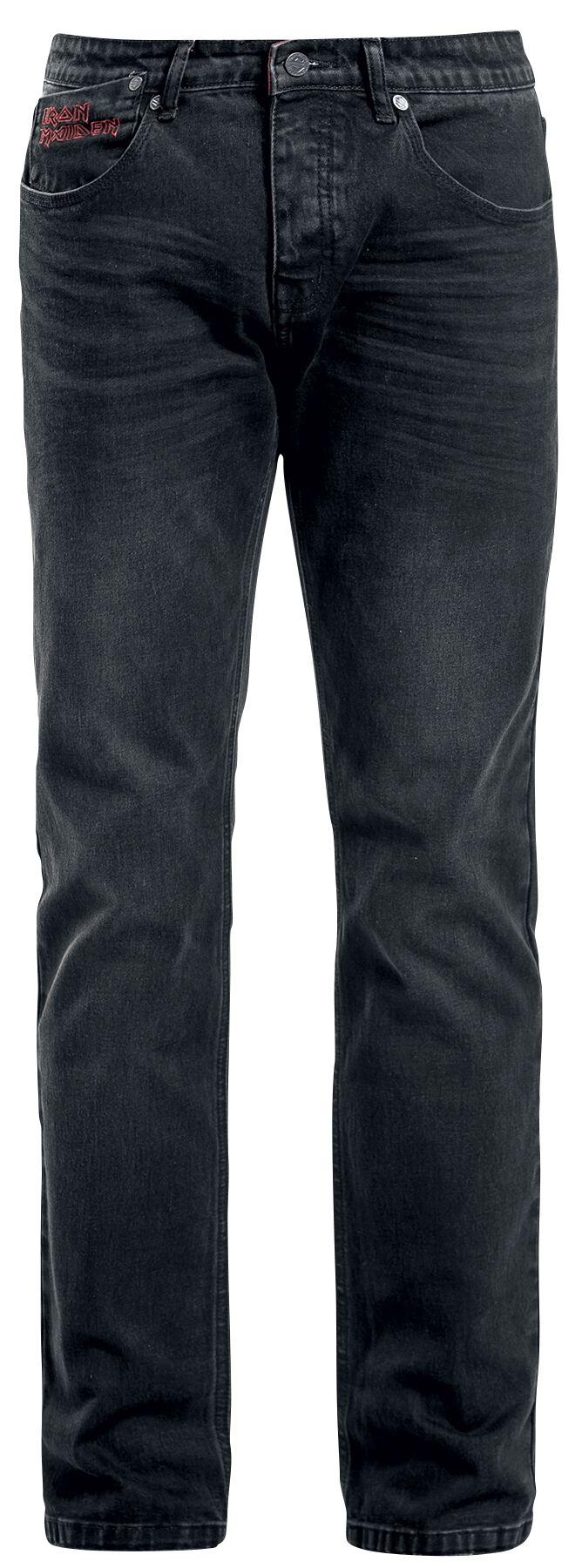 Image of   Iron Maiden EMP Signature Collection Jeans sort