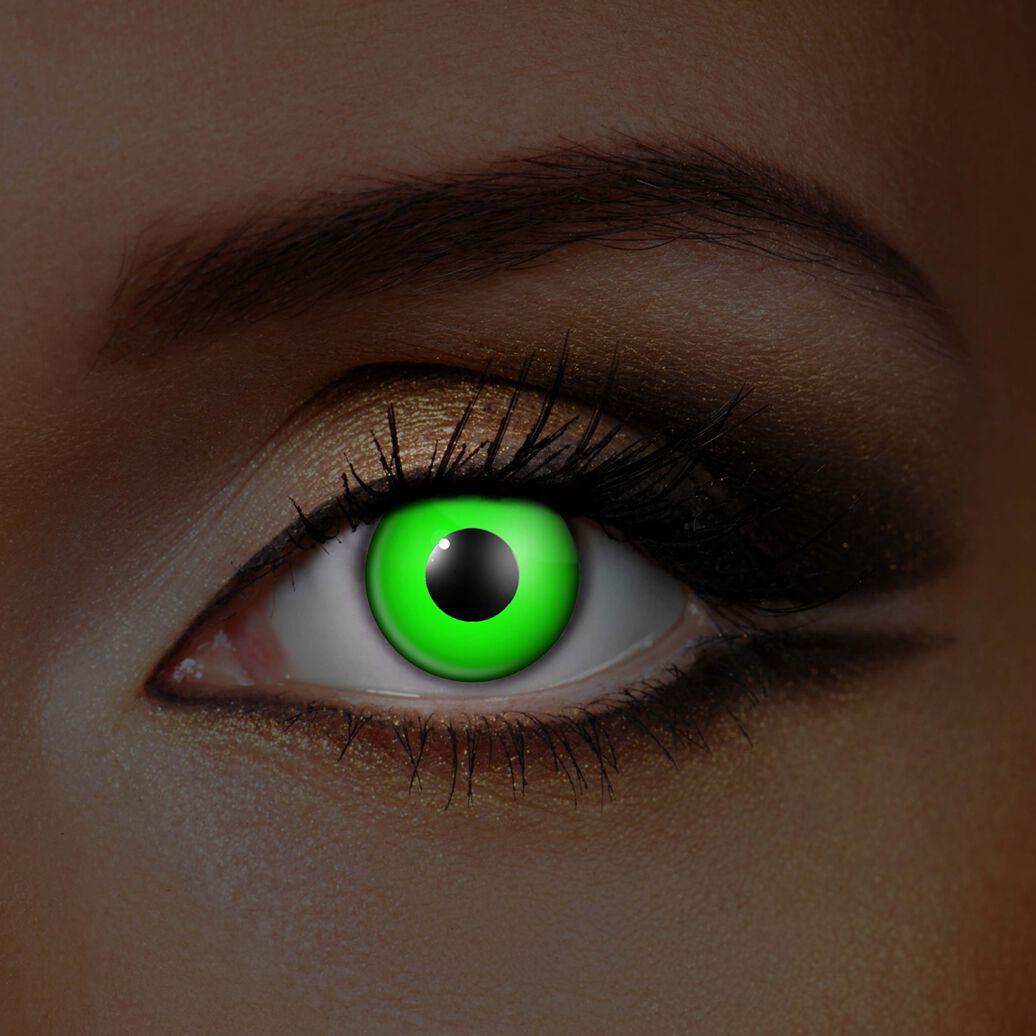 Image of   Wildcat Green Eye UV Kontaktlinse Standard