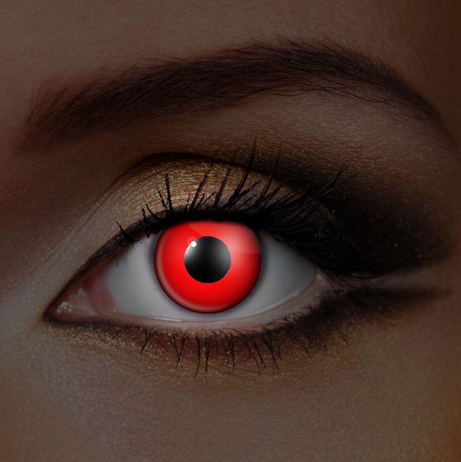 Image of   Wildcat Red Eye UV Kontaktlinse Standard