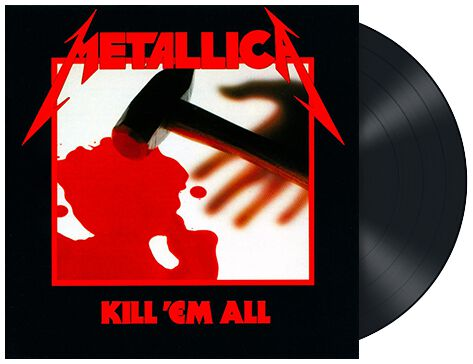 Image of   Metallica Kill 'em all LP standard