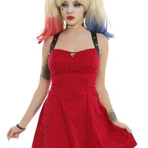 Suicide Squad Harley Quinn - Holster Robe rouge/noir