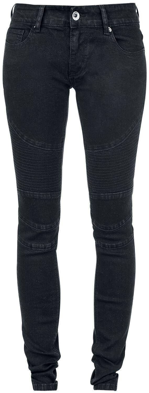 Image of   Forplay Biker Pants Girlie jeans sort