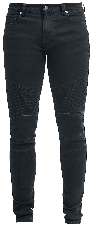 Image of   Forplay Biker Pants Jeans sort