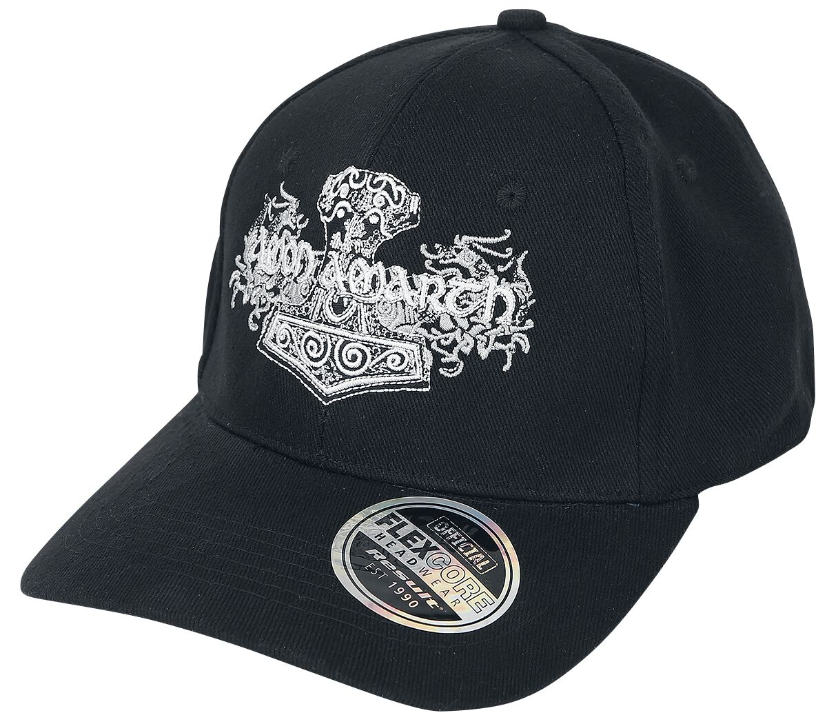 Image of   Amon Amarth Logo Flexcap sort