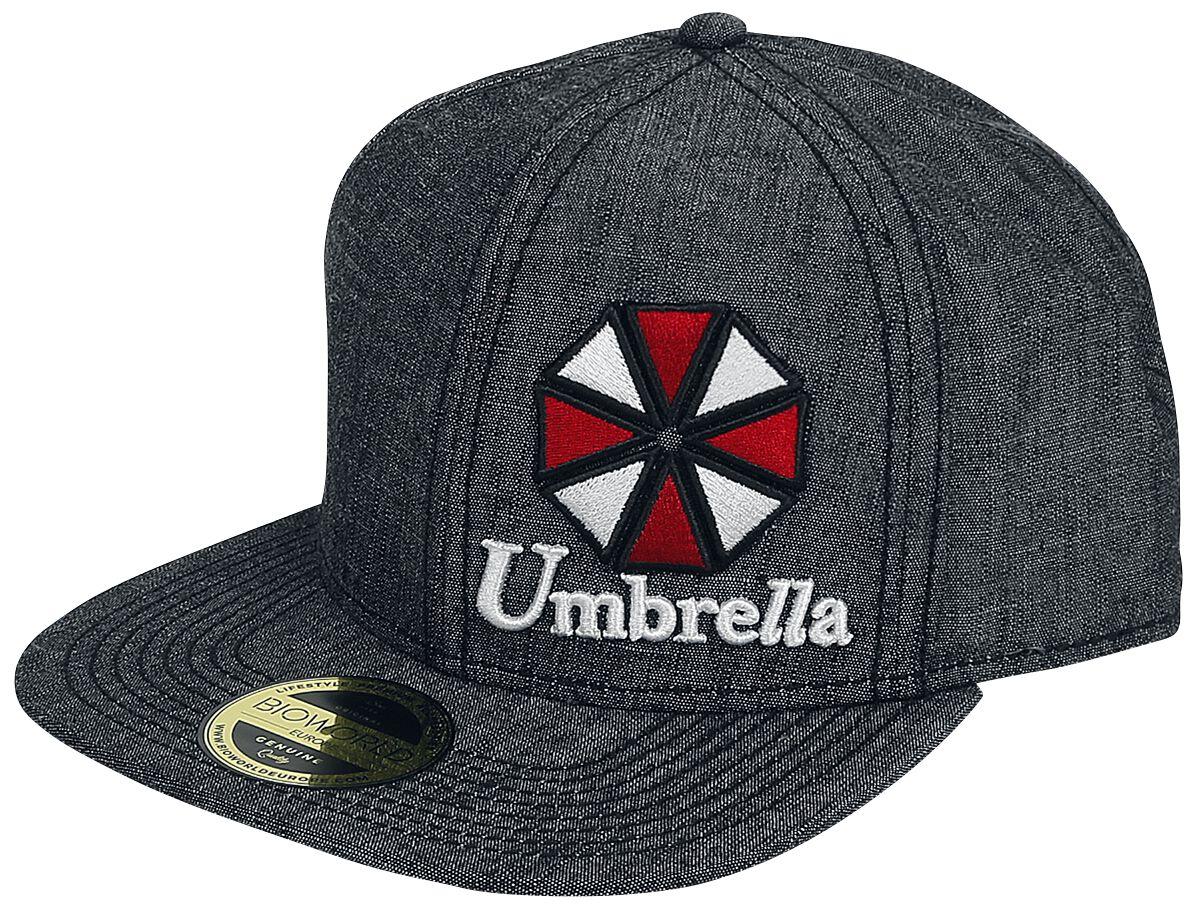 Merch dla Fanów - Czapki i Kapelusze - Czapka Snapback Resident Evil Umbrella Logo Czapka Snapback odcienie szarego - 333547