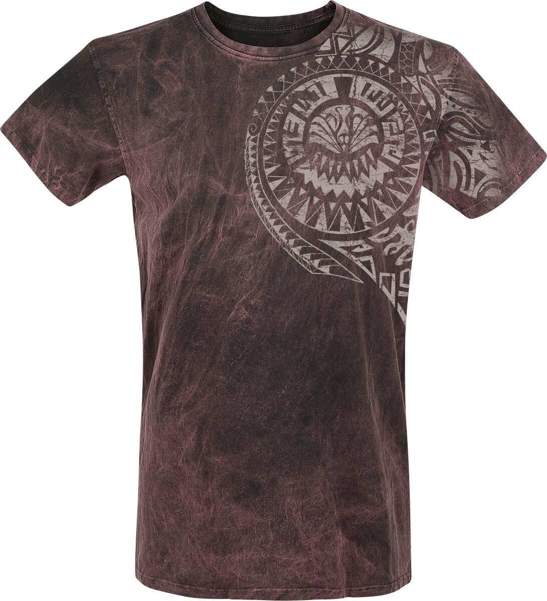 Image of   Outer Vision Burned Magic T-Shirt bordeaux