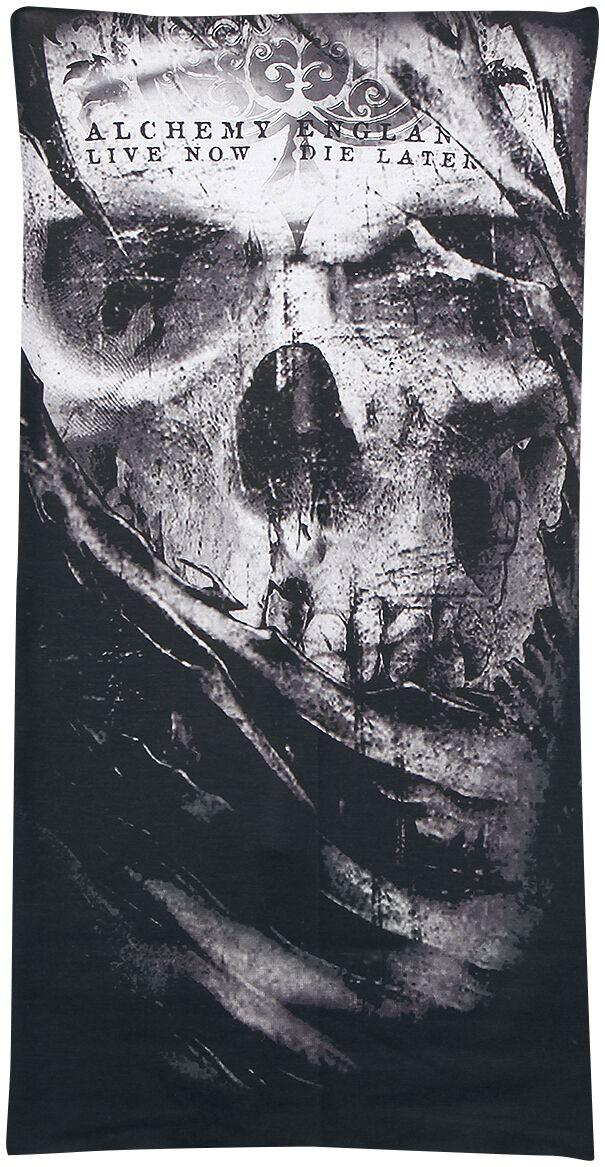 Image of   Alchemy England From The Shadows Rundt halstørklæde sort-grå-hvid