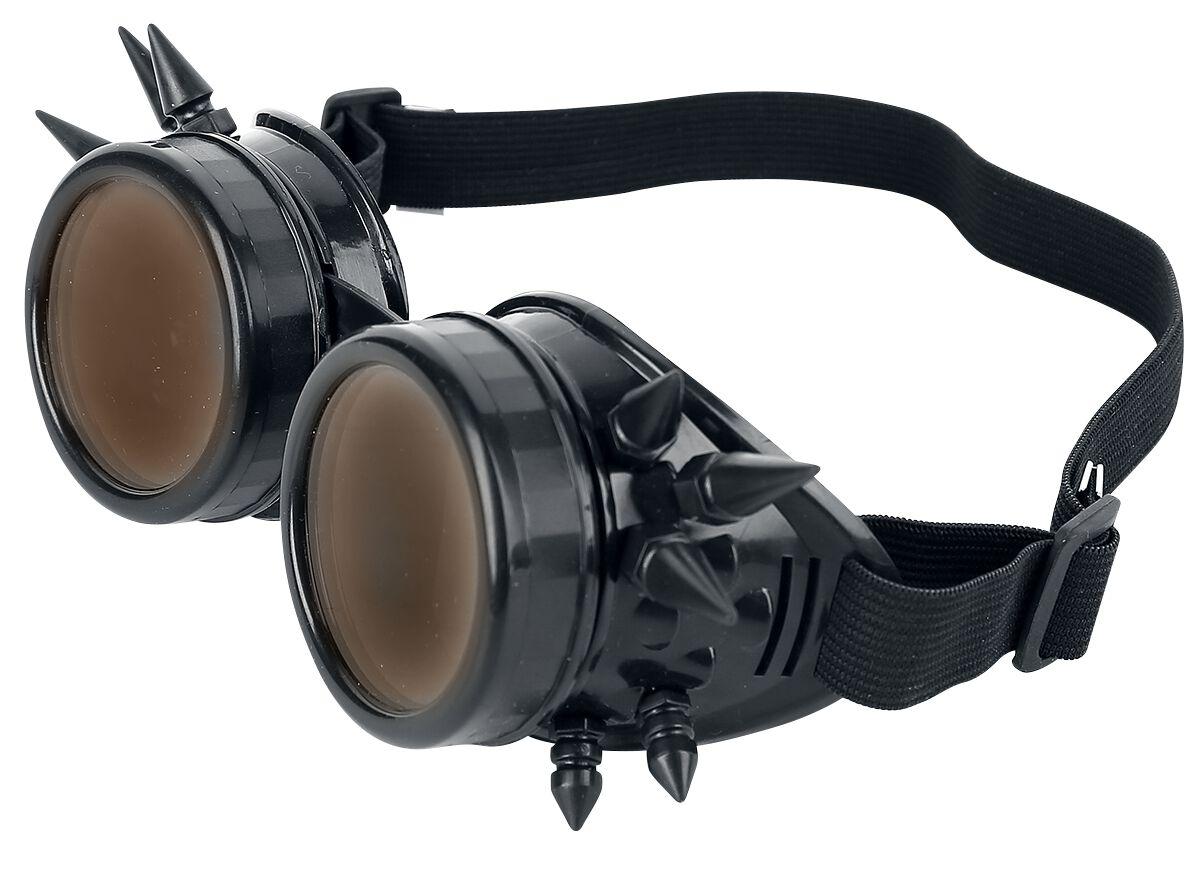 Marki - Okulary - Okulary Alcatraz Spiked Cyber Goggle Black Okulary czarny - 333631