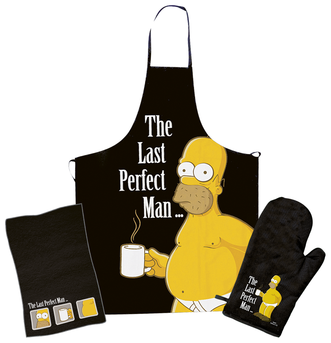 The Simpsons - The Last Perfect Man - Barbecue Apron - standard
