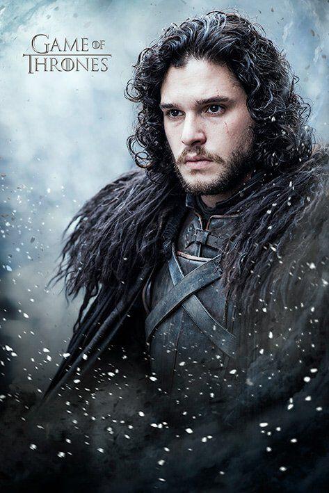 Image of   Game Of Thrones Jon Snow Plakat standard