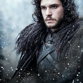 Game Of Thrones Jon Snow Poster multicolore