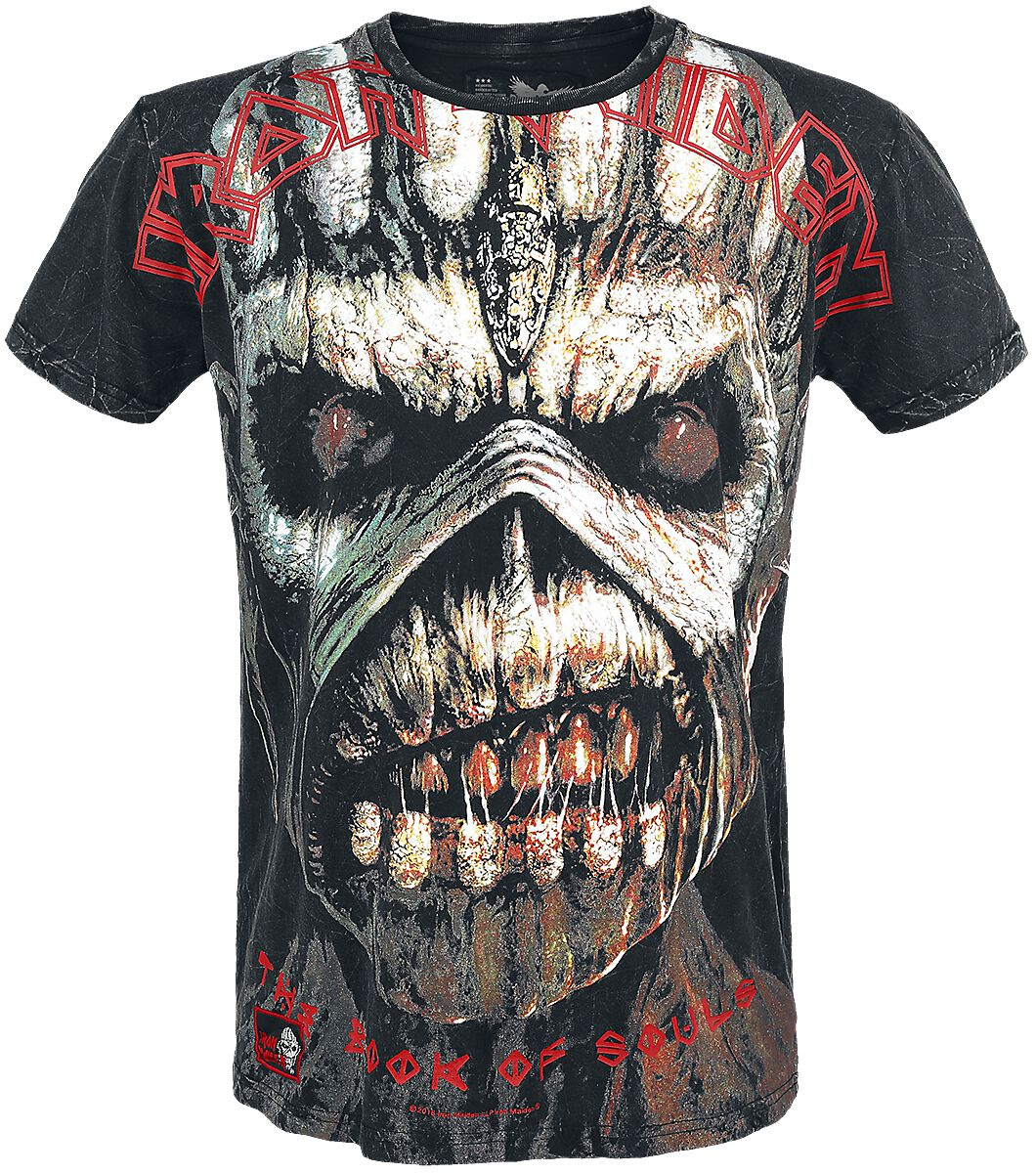 Marka własna - Koszulki - T-Shirt Iron Maiden EMP Signature Collection T-Shirt czarny - 334064