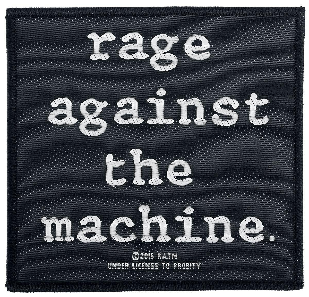 Zespoły - Naszywki - Naszywka Rage Against The Machine Logo Naszywka standard - 334175