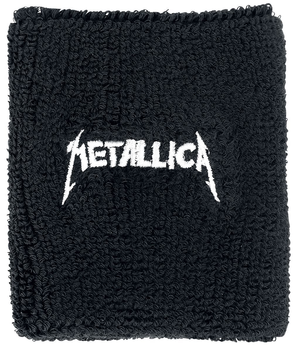 Image of   Metallica Logo Armbånd sort