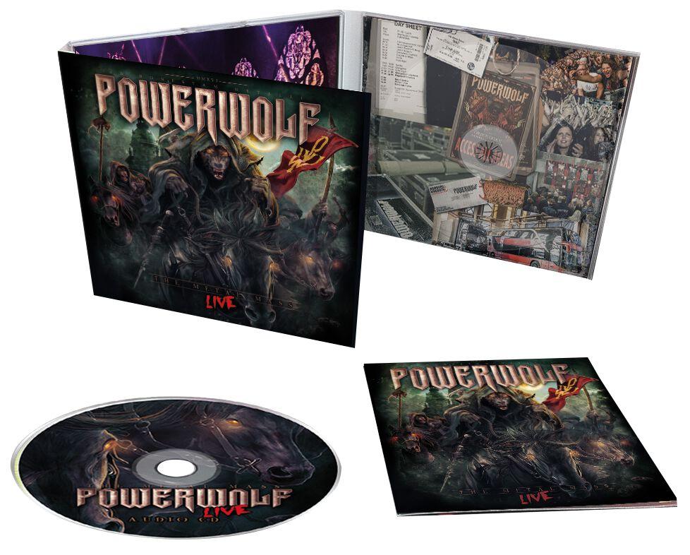 Image of   Powerwolf The Metal mass live CD Standard