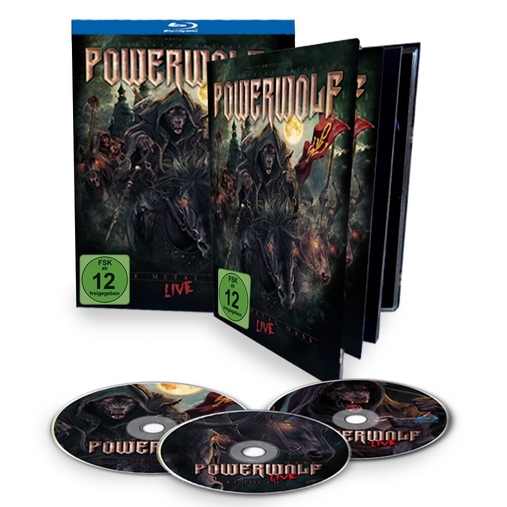 Image of   Powerwolf The Metal mass live 2-Blu-ray & CD Standard
