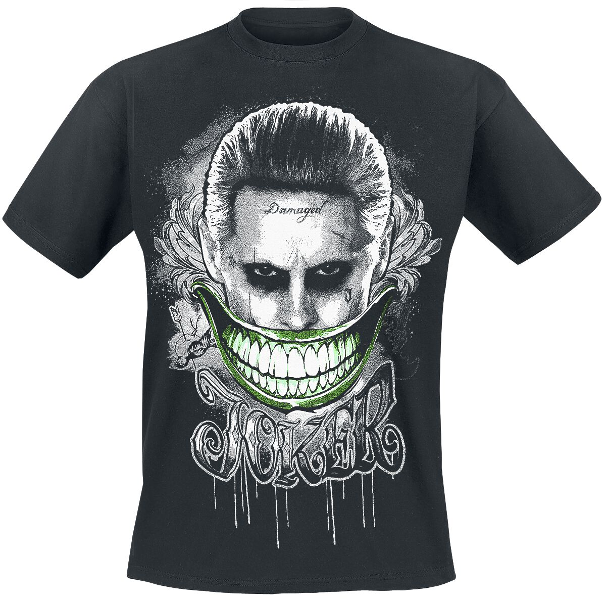 Image of   Suicide Squad The Joker - Smile T-Shirt sort