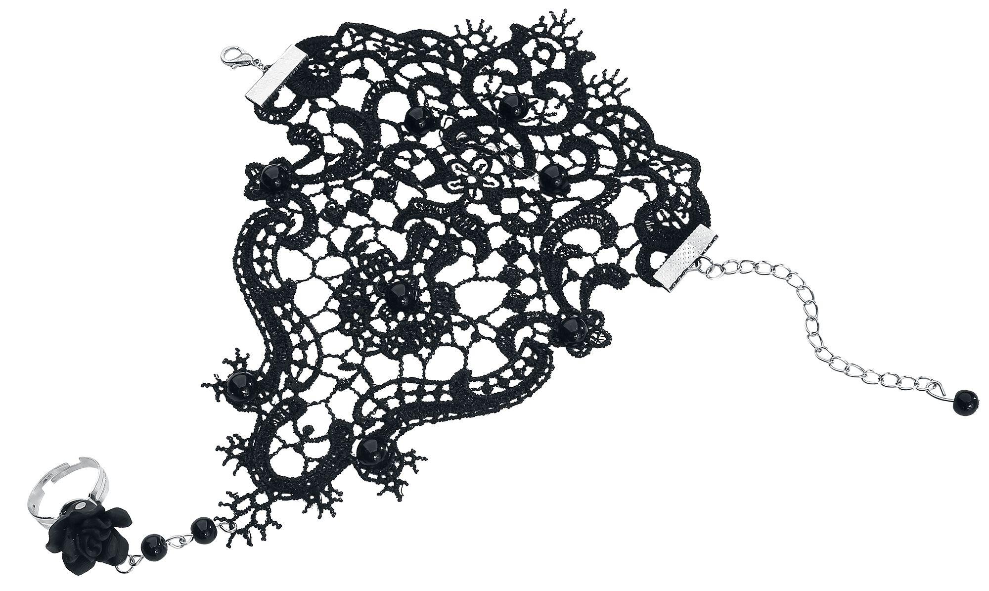 Basics - Bransoletki - Biżuteria na rękę Black Lace Biżuteria na rękę standard - 334455