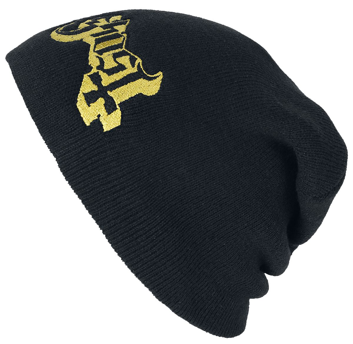 Zespoły - Czapki i Kapelusze - Beanie Ghost Logo Beanie czarny - 334472