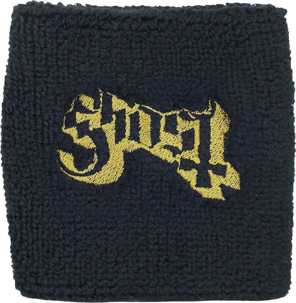 Zespoły - Frotki i Narękawniki - Frotka Ghost Logo Frotka czarny - 334473