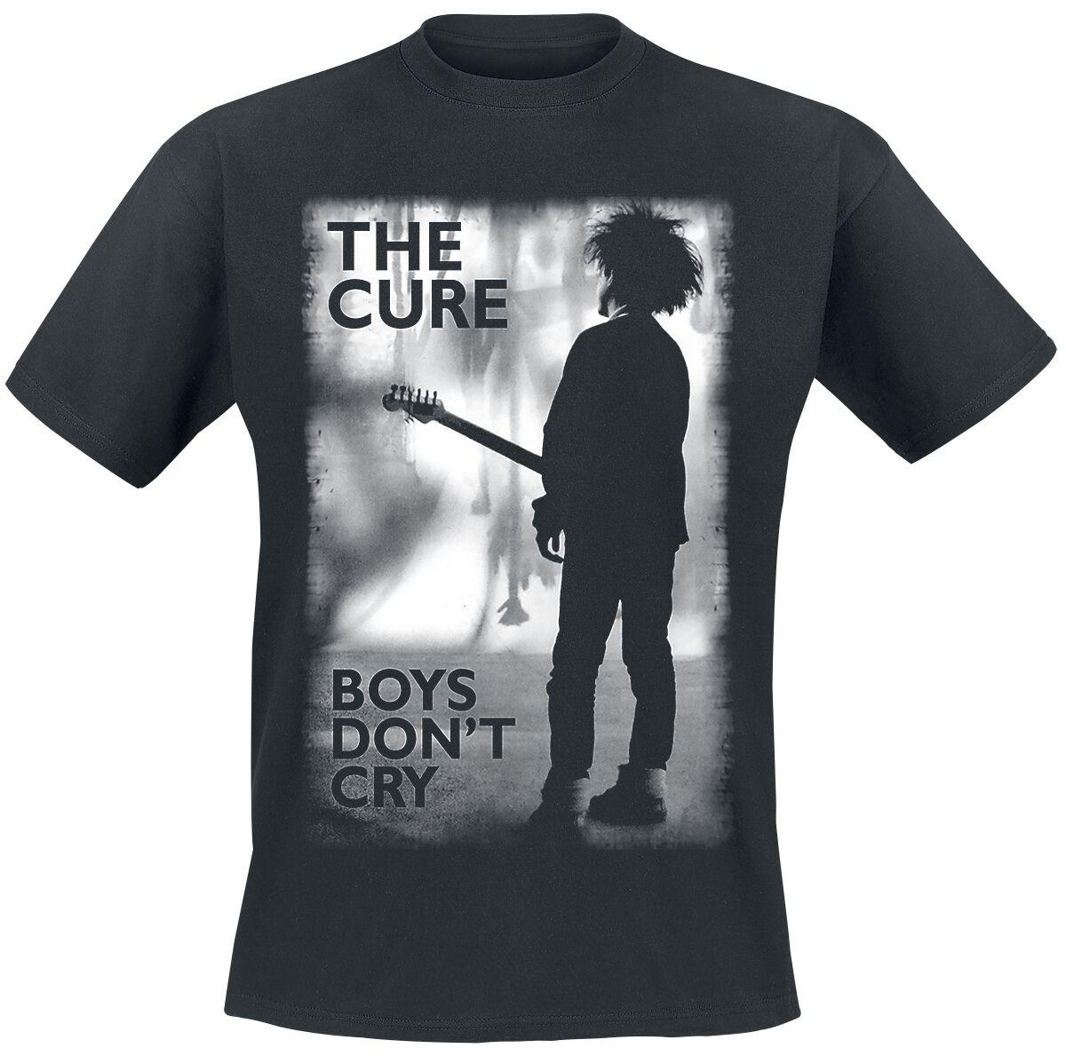 Zespoły - Koszulki - T-Shirt The Cure Boys Don't Cry T-Shirt czarny - 334625