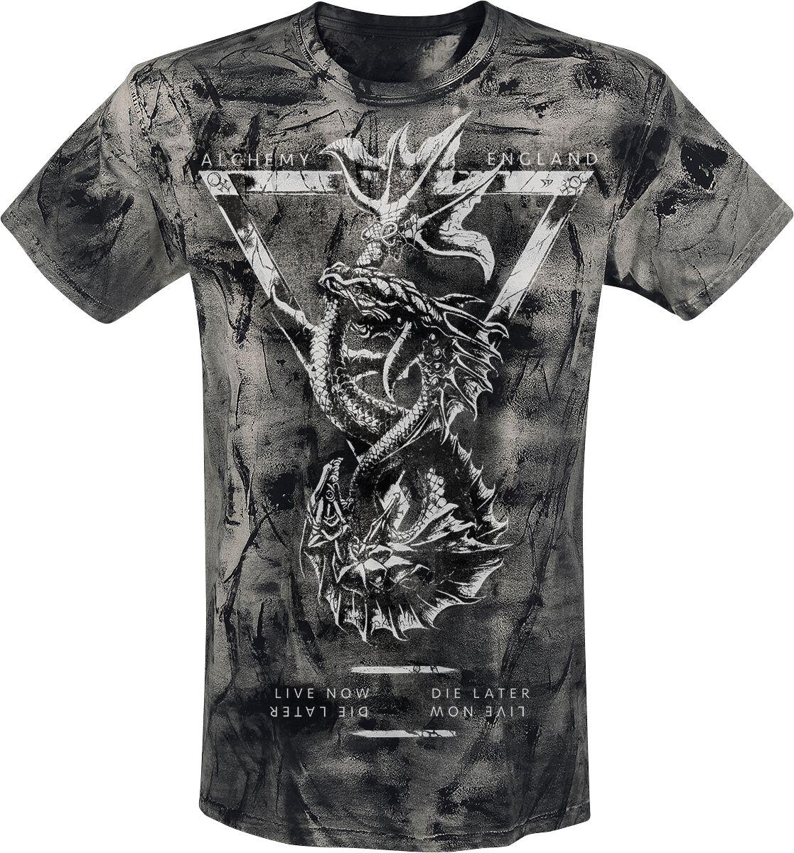 Image of   Alchemy England Pisces T-Shirt grå
