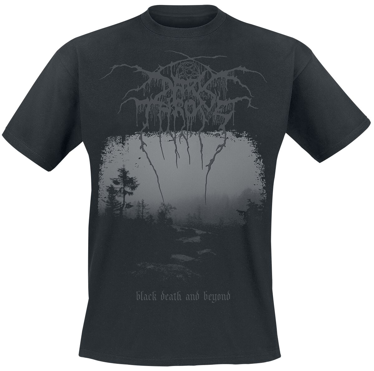 Zespoły - Koszulki - T-Shirt Darkthrone Black death and beyond T-Shirt czarny - 334702