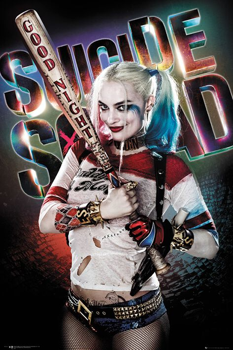 Image of   Suicide Squad Harley Quinn - Good Night Plakat standard