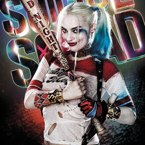 Suicide Squad Harley Quinn - Good Night Poster multicolore