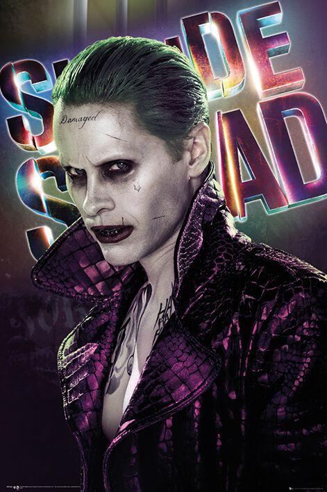 Image of   Suicide Squad Joker Plakat standard